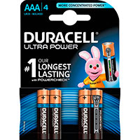 AAA batterier (Alkaline) Duracell Ultra Power - 4-Pack