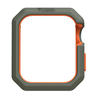 Apple Watch cover 44/42mm (Civilian) Oliven/Orange UAG