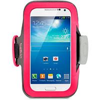 Slim Fit Neopren armbånd til Galaxy S4 Mini - Pink