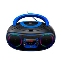 Bluetooth Boombox (CD/FM/USB) Blå - Denver TCL-212BT