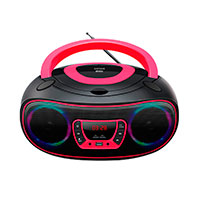 Bluetooth Boombox (CD/FM/USB) Pink - Denver TCL-212BT