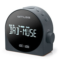 Clockradio m/DAB+ (Design) Muse M-185 CDB