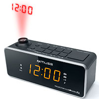 Clockradio m/projektor (0,9tm LED) Muse M-188