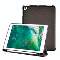 Cover til iPad 2018/Pro 9,7tm/Air (Folie) Grå - Nedis