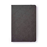 Cover til tablet 10.1tm Folie (PU læder) Sort - Nedis