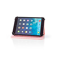Cover til tablet 7tm Folie (PU læder) Pink - Nedis