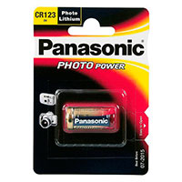 CR123A batteri Lithium - Panasonic 1 stk