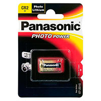 CR2 batteri Lithium - Panasonic 1 stk