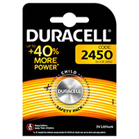 CR2450 batteri (Lithium) Duracell - 1-Pack