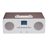 DAB+/Internet radio (m/Bluetooth) Sølv - Denver MIR-260