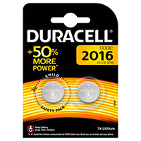 Duracell CR2016 batteri (Lithium) 2-Pack