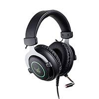 Gaming Headset m/mikrofon (LED) L33T Gjermundbu