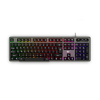 Gaming tastatur m/backlight (Semi-transparent) Havit KB414L
