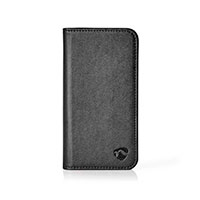 iPhone X/XS flip cover (Wallet) Sort - Nedis