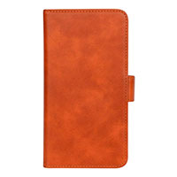 iPhone XR flip cover (3 kort) Lys brun - Essentials