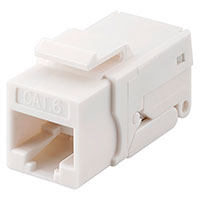 Keystone Connector Cat6 (UTP) Toolless