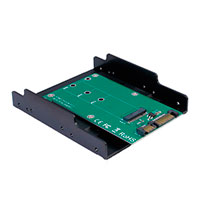 M.2 til SATA adapter 3,5tm (22-pin)