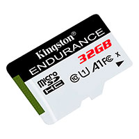 Micro SD kort 32GB (UHS-1 klasse 10) A1- Kingston Endurance