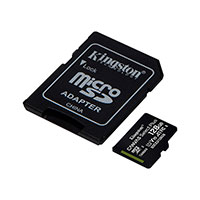 Micro SDXC Kort 128GB V10 A1 m/adapter (UHS-I) Kingston