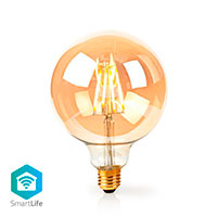 Nedis WiFi Globe d�mpbar LED filament p�re E27 - 5W (40W)
