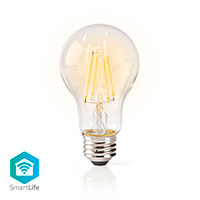 Nedis WiFi d�mpbar LED filament p�re E27 - 5W (40W) Vintage