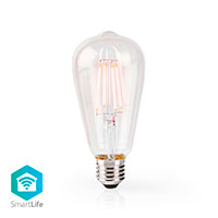Nedis WiFi Edison d�mpbar LED Filament p�re E27 - 5W (40W)