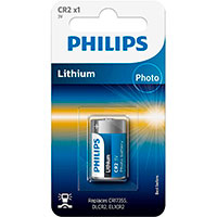 Philips CR2 batteri 3V (Lithium)