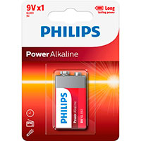 Philips Power 9V batteri (Alkaline)
