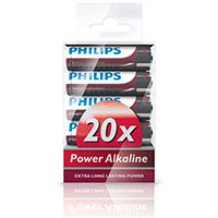 Philips Power AA batterier (Alkaline) 20-Pack