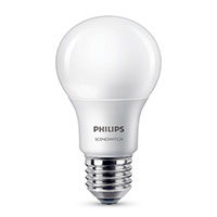 Philips SceneSwitch LED pære E27 Mat - 8W (60W)