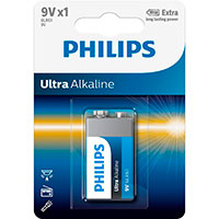 Philips Ultra 9V batteri (Alkaline)