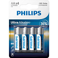 Philips Ultra AA batterier (Alkaline) 4-Pack