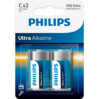 Philips Ultra C batterier (Alkaline) 2-Pack