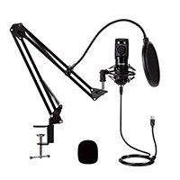 Podcast mikrofon sæt (USB) GEAR4U Streamer Kit