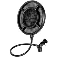 Popfilter til podcast mikrofon (nylon) Thronmax P1