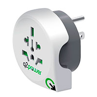 Rejseadapter World til USA - Q2 Power