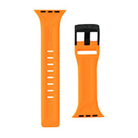 Rem til Apple Watch (42-44mm) Orange - UAG Scout