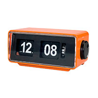 Retro Clockradio (flip digits) Orange - Denver CR-425