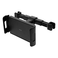 iPad bilholder m/teleskop arm (4-11tm) Sort