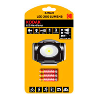 LED pandelampe 5W (300lm) Sort - Kodak