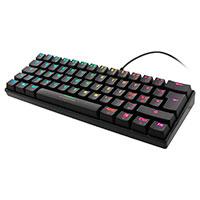 Gaming mini tastatur (RGB) Sort - Deltaco