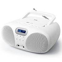DAB+ Boombox (CD+FM+AUX) Hvid - Muse MD-208