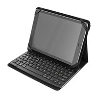 Tablet holder med tastatur (Nordisk layout)