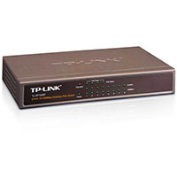 TP-Link PoE Switch 8 Port - 10/100 Mbps (53W)