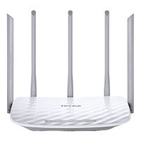 Trådløs Router 4-port Gbit (1,35 Gbps WiFi/5 GHz) 5 antenner