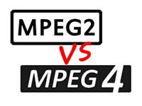 Mpeg 2 vs Mpeg 4