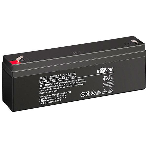 12v Batteri (Blybatteri) - 2,3Ah