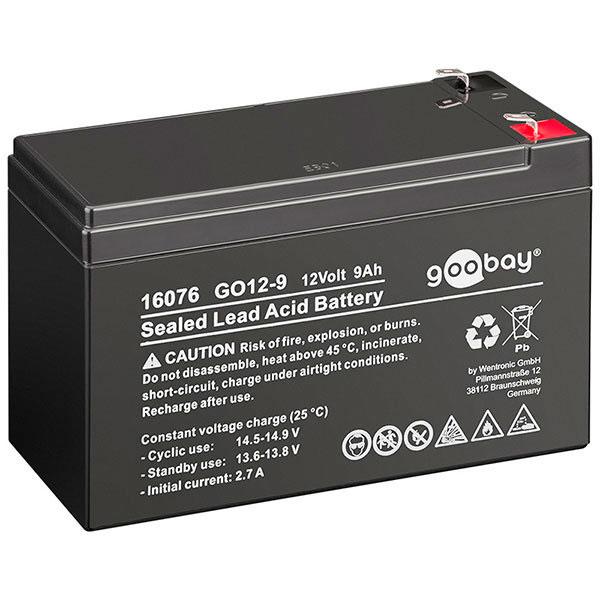 Helt nya 12v Batteri (Blybatteri) - 9Ah DA-26