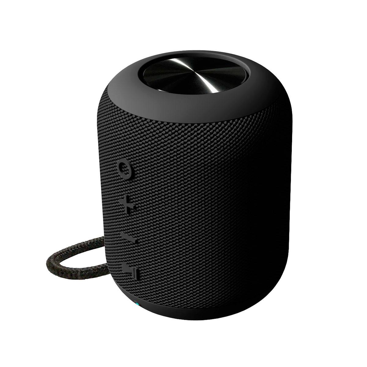 Tidsmæssigt Bluetooth højttaler vandtæt silo (2x5W) Sort - Platinet Peak UV-35