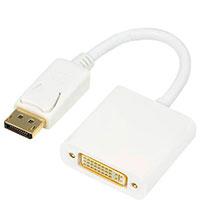 DisplayPort til DVI adapter